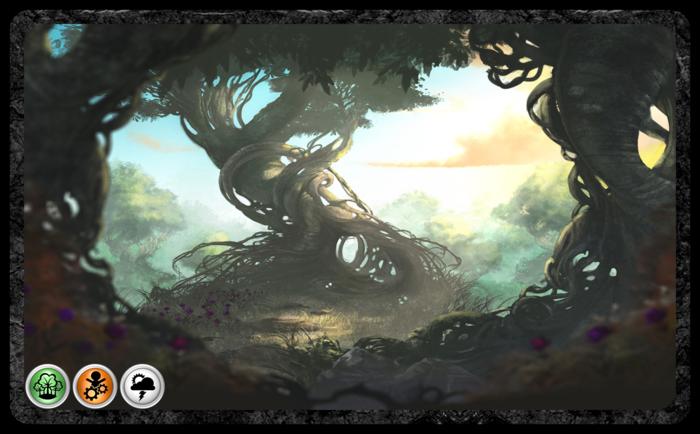 Twisted grove