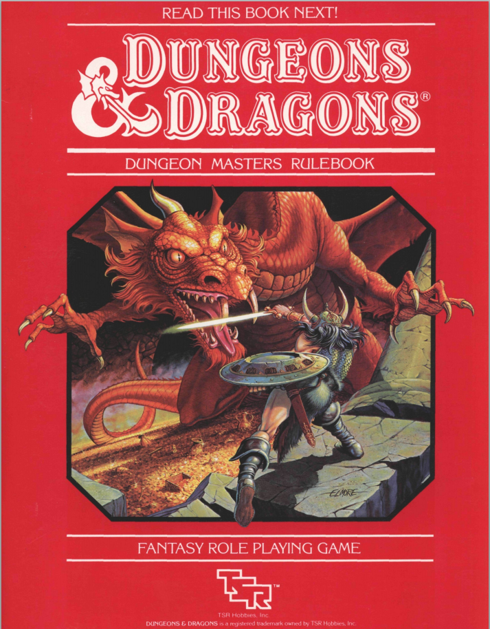 Dungeon Masters Rulebook Red Box Version Technoskald S Forge