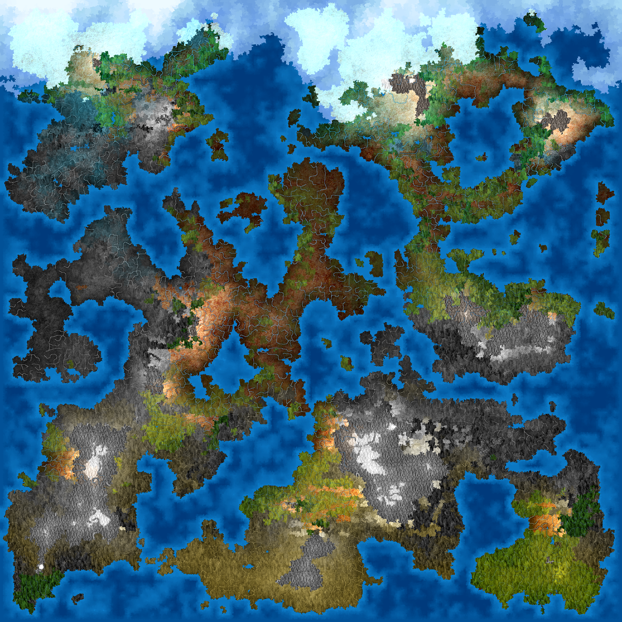 Rpg World Map Generator Using Dwarf Fortress as a map generator – Technoskald's Forge
