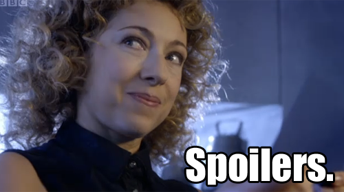 "River Song ""Spoilers."""
