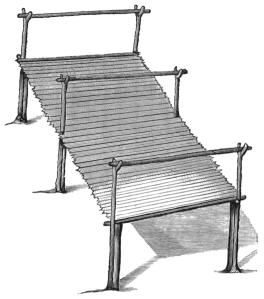 Drying scaffold