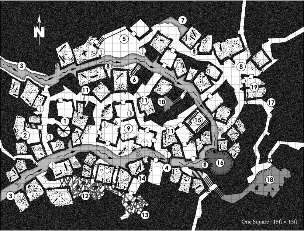 Secrets of the Old City map