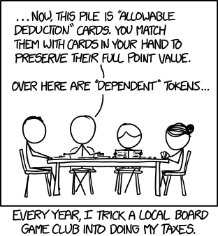 "XKCD ""Board Game"" comic"