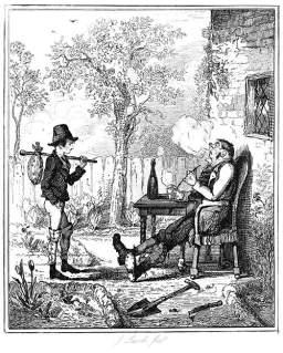 """Leech, John. """"First Interview"""". 1841."""