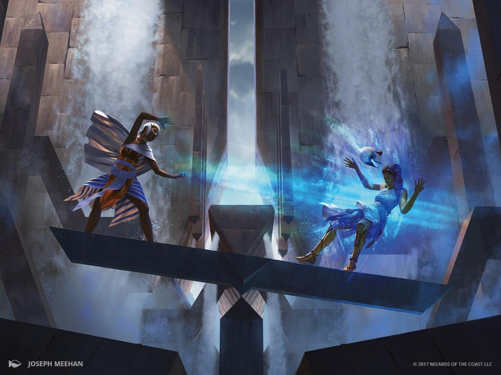 Counterbalance (Invocations) MtG Art by Joseph Meehan