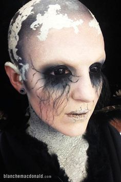 Prosthetic makeup by Pauline King