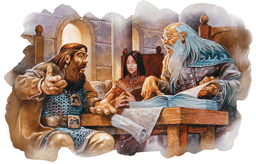 "Image from ""Waterdeep Dragon Heist"". (c) 2018 Wizards of the Coast"