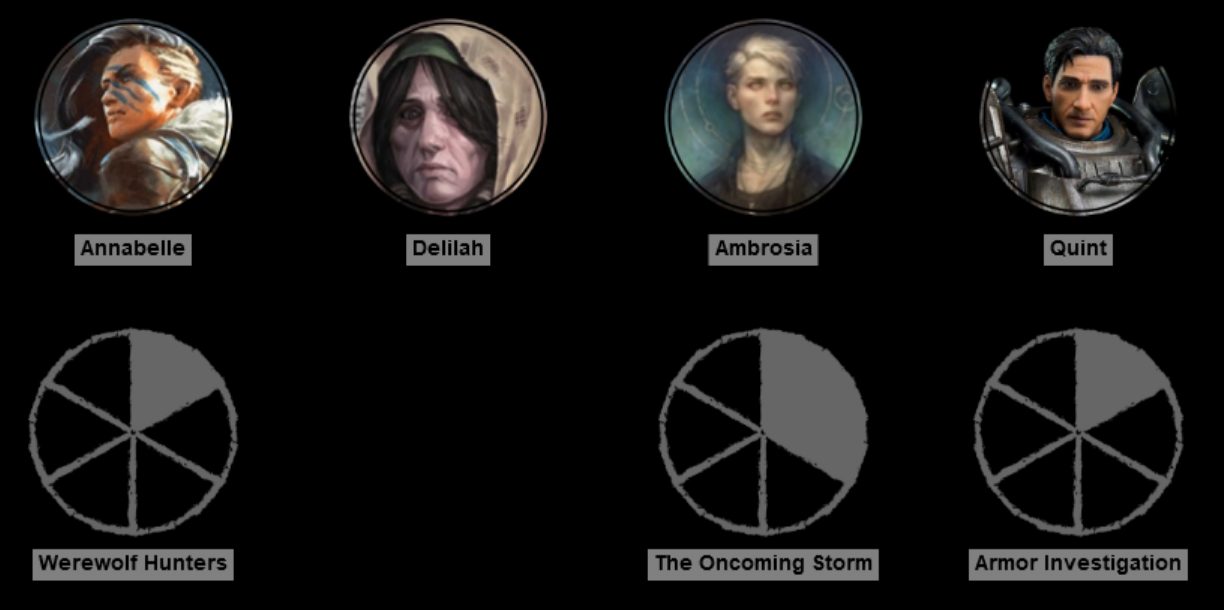 Progress clocks in Dungeons and Dragons – Technoskald's Forge