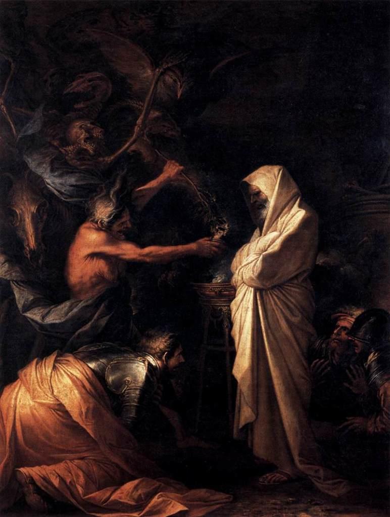 The Shade of Samuel Appears to Saul 1668 Oil on canvas, 275 x 191 cm Musée du Louvre, Paris